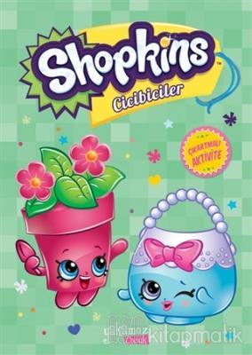 Shopkins Cicibiciler Çıkartmalı Aktivite - Yeşil Kitap