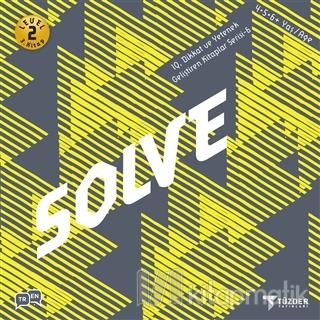 Solve - IQ Dikkat ve Yetenek Geliştiren Kitaplar Serisi 6 (Level 2)