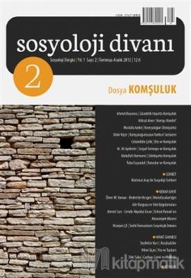 Sosyoloji Divanı Sayı : 2 Temmuz-Aralık 2013
