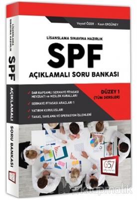 SPF Lisanslama Sınavına Hazırlık Açıklamalı Soru Bankası Düzey 1 (Tüm Dersler)