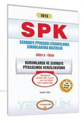 SPK 1013 Kurumlarda ve Sermaye Piyasasında Vergilendirme 2015