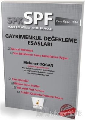 SPK - SPF Gayrimenkul Değerleme Esasları Konu Anlatımlı Soru Bankası