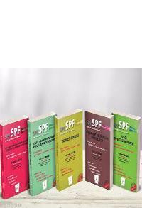 SPK - SPF Kredi  Derecelendirme Lisansı (5 Kitap)