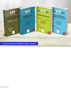 SPK - SPF Sermaye Piyasası Faaliyetleri Düzey 1 Lisansı (4 Kitap)