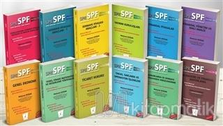 SPK - SPF Sermaye Piyasası Faaliyetleri Düzey 3 Lisansı Seti (12 Kitap Takım)