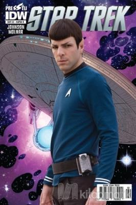 Star Trek Sayı: 2 - Kapak B Mike Johnson