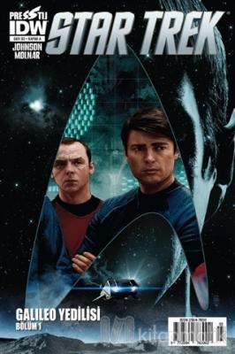 Star Trek Sayı: 3 - Kapak A Mike Johnson