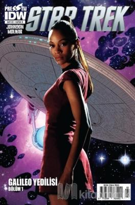 Star Trek Sayı: 3 - Kapak B Mike Johnson