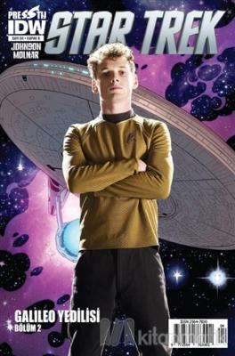 Star Trek Sayı: 4 - Kapak B Mike Johnson