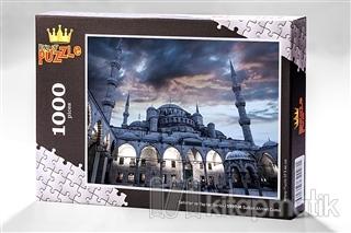 Sultan Ahmet Camii 1000 Parca Ahsap Puzzle Sehirler Ve Yapilar Ser