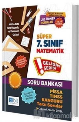 Süper 7. Sınıf Matematik Soru Bankası Zeynel Abidin Önel