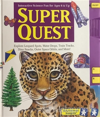 Super Quest - İnteractive Science Fun for Ages 6 and Up (Ciltli)