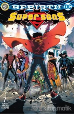 Super Sons Sayı 7( DC Rebirth ) Peter J. Tomasi