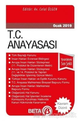 T.C. Anayasası (Ocak 2019)