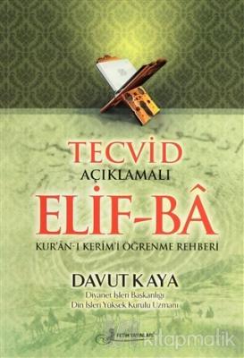 Tecvid Açıklamalı Elif-Ba (Kod F036) Davut Kaya