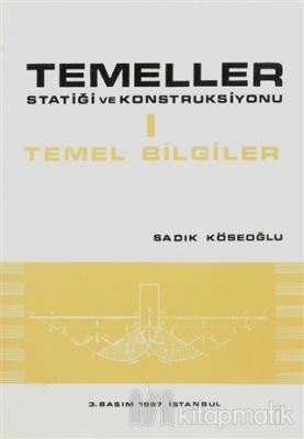 Temeller Statiği ve Konstruksiyonu 1