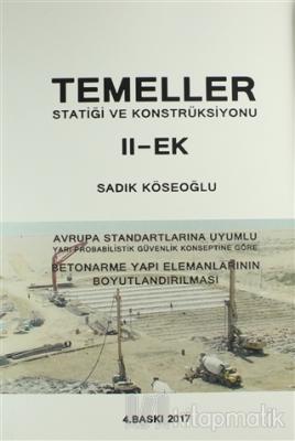 Temeller Statiği ve Konstruksiyonu - 2 Ek