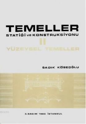 Temeller Statiği ve Konstruksiyonu 2