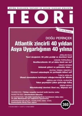 Teori Dergisi Sayı: 360 Ocak 2020