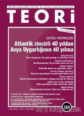 Teori Dergi Sayı: 360 Ocak 2020 Kolektif