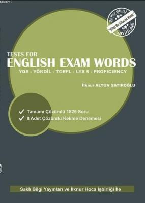 Tests for English Exam Words