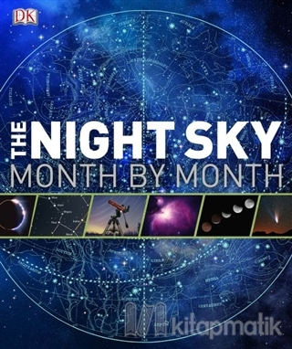 The Night Sky Month By Month (Ciltli)