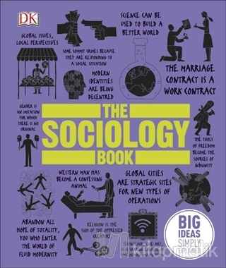 The Sociology Book (Ciltli)