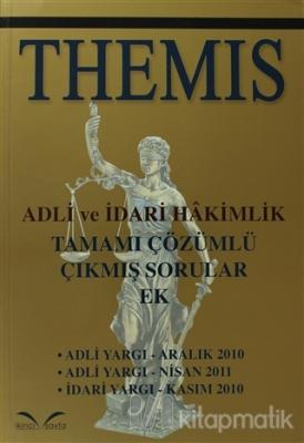 Themis Adli ve İdari Hakimlik Tamamı Çözümlü Çıkmış Sorular Ek