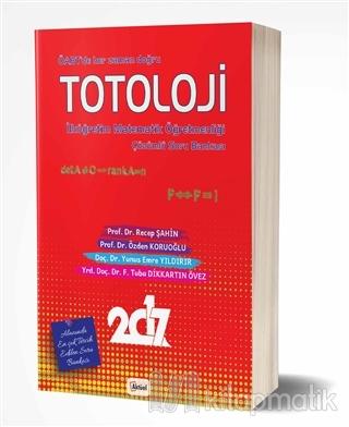 Totoloji İlköğretim Matematik Öğretmenliği Çözümlü Soru Bankası %20 in