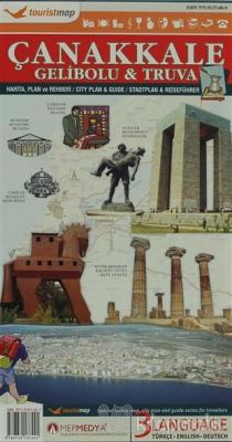 Touristmap Çanakkale Gelibolu - Truva