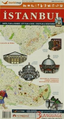 Touristmap İstanbul il Haritası Plan ve Rehberi