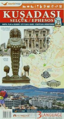 Touristmap Kuşadası Harita, Plan ve Rehberi