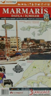 Touristmap Marmaris Harita, Plan ve Rehberi