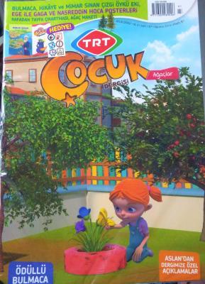 TRT Çocuk Dergisi Sayı: 107 Ağustos 2019