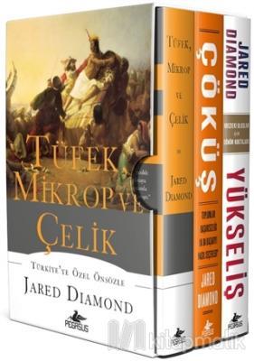 Tüfek Mikrop ve Çelik Üçlemesi (3 Kitap Kutulu, Ciltli) Jared Diamond