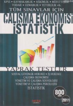 Tüm Sınavlar İçin Çalışma Ekonomisi İstatistik Yaprak Testler (800 Soru)