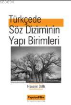 Türkçede Söz Diziminin Yapı Birimleri