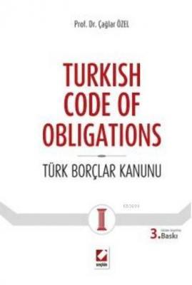Turkish Code of Obligations (Ciltli)