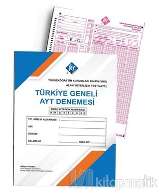 Türkiye Geneli Optikli AYT Denemesi Kolektif