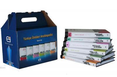 Türkiye Ünlüleri Ansiklopedisi (6 Kitap Takım)