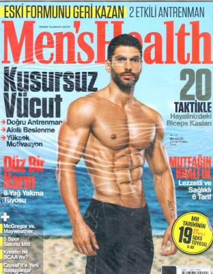 Men's Health Dergisi Sayı:2017/08 Ağustos 2017