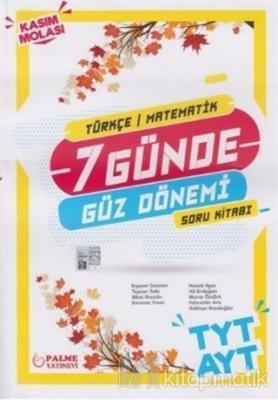 TYT AYT 7 Günde Güz Dönemi Türkçe Matematik Soru Bankası 2020