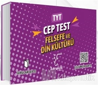 TYT Cep Test Felsefe ve Din Kültürü Kolektif