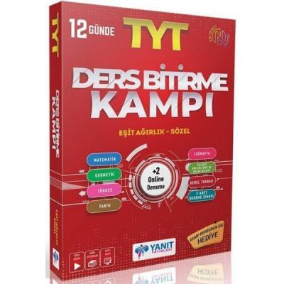 TYT Eşit Ağırlık Sözel Ders Bitirme Kampı Yanıt Yayınları Komisyon