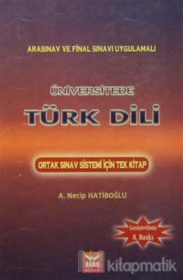 Üniversitede Türk Dili