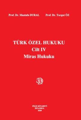 Türk Özel Hukuku Mustafa Dural