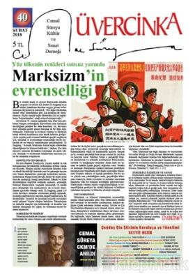 Üvercinka Dergisi Sayı : 40 Şubat 2018