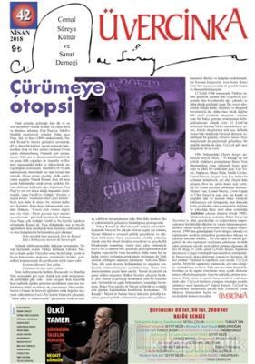 Üvercinka Dergisi Sayı: 42 Nisan 2018
