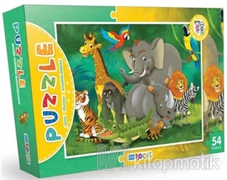 Vahşi Hayvanlar - Puzzle (BF077)