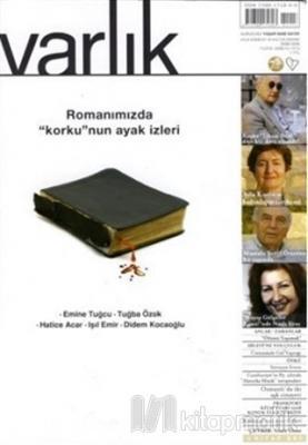 Varlık Aylık Edebiyat Ve Kültür Dergisi Sayı: 1213 - Ekim 2008 Kolekti
